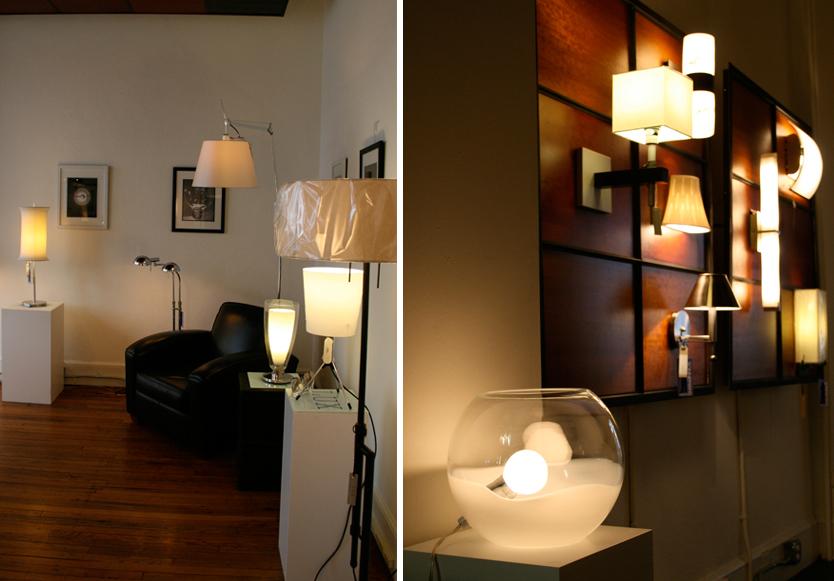 Modern lighting for your home at lux modernasheville