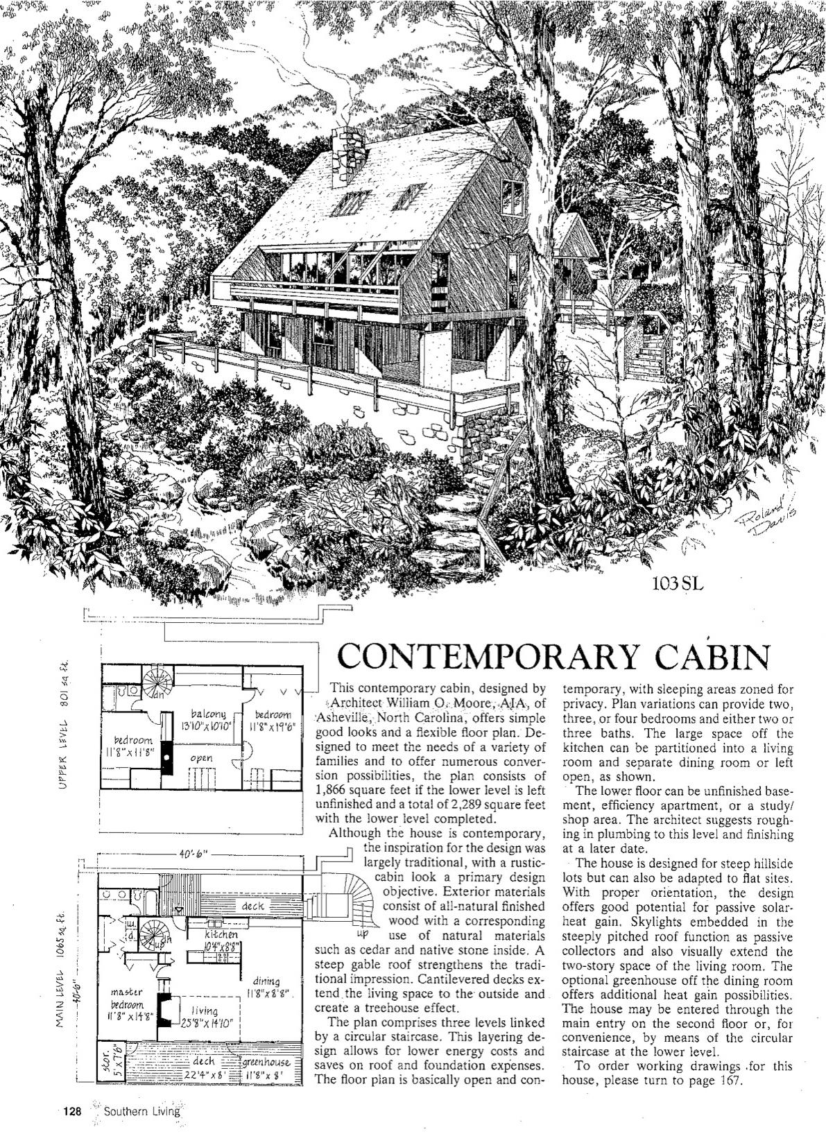 cabin graphic design