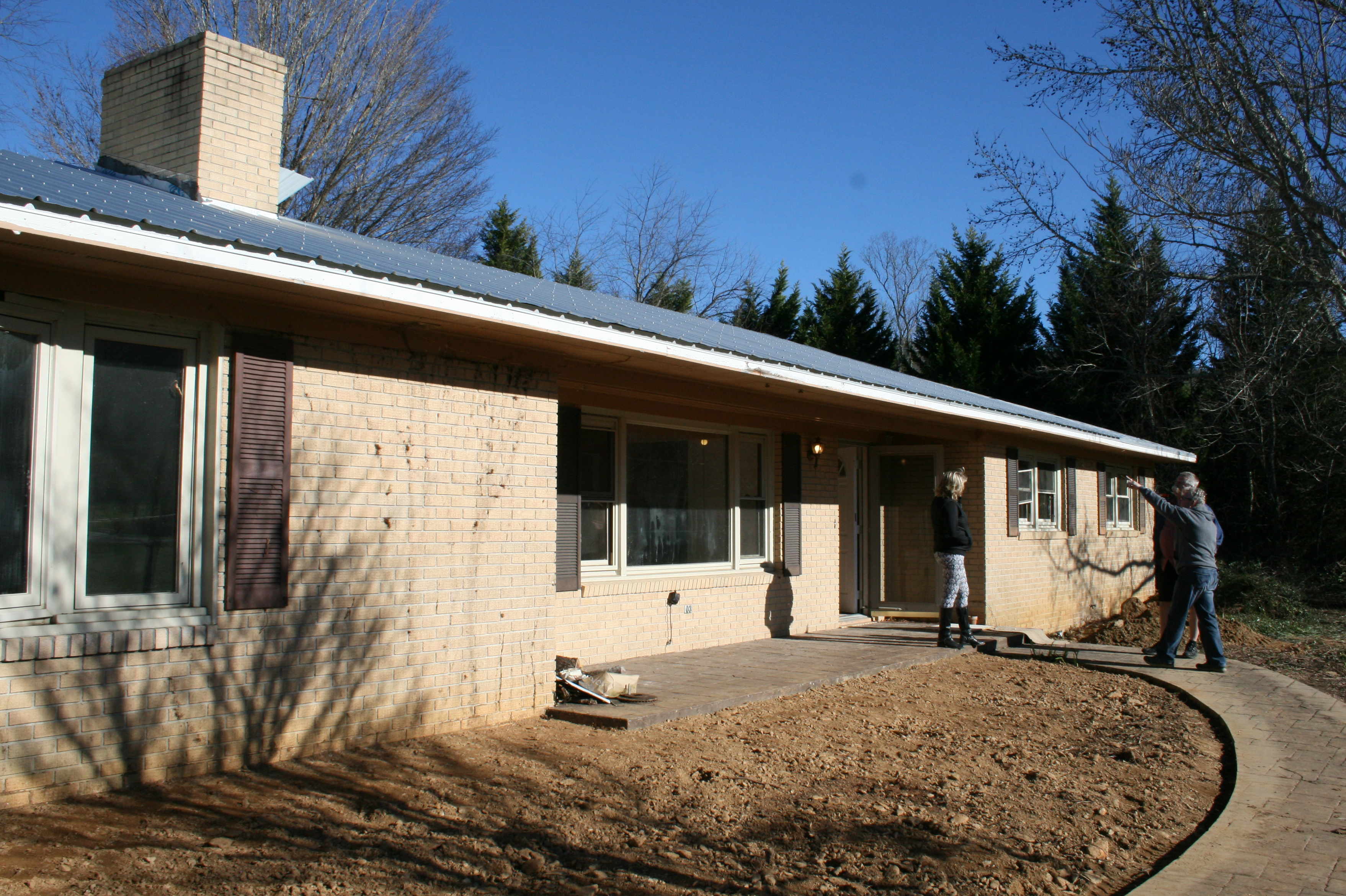 Renovation for Metal roof ranch house