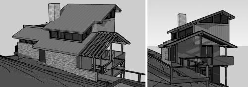 For sale creston cabin lot for Clerestory roof design