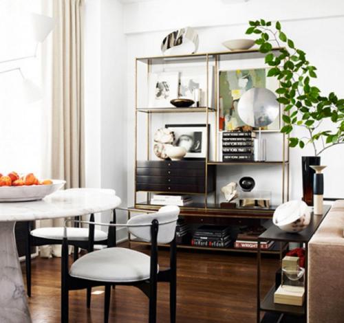 mid-century modern furnishings asheville home house real estate