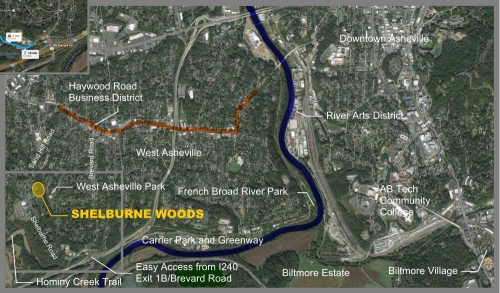 Shelburne Woods Map (cropped)