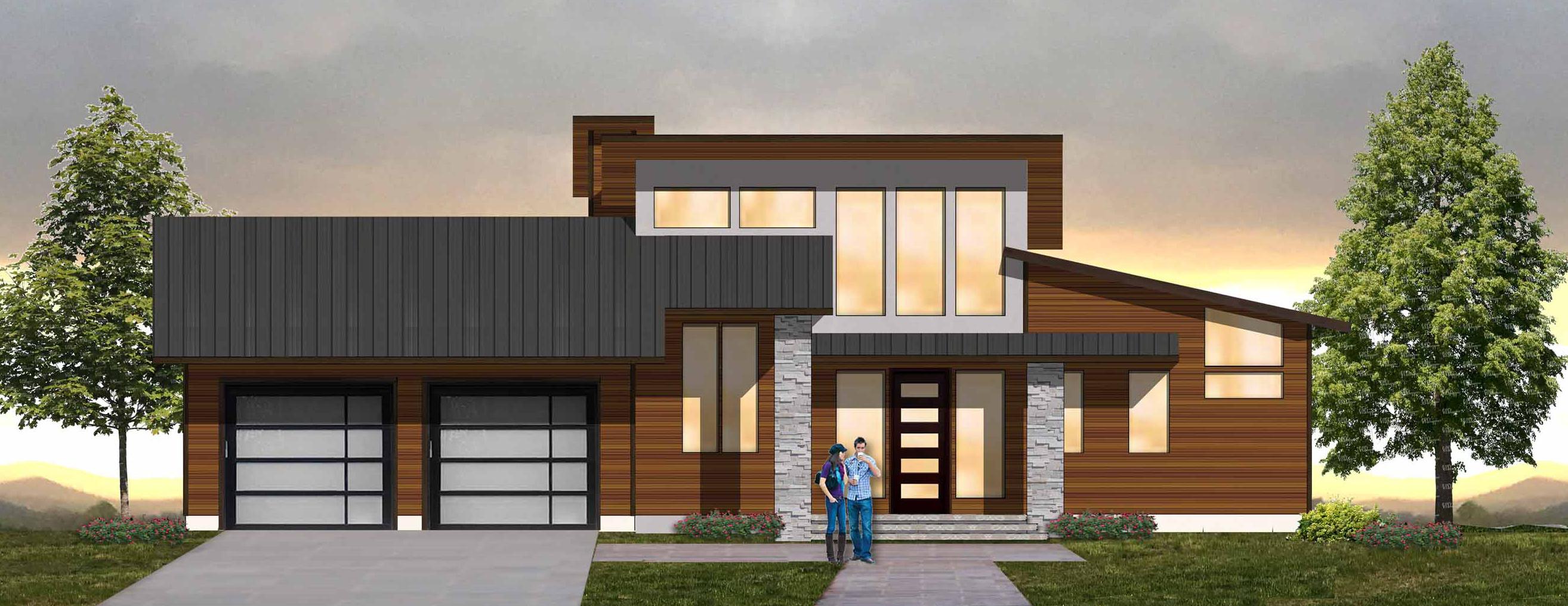 Modern Asheville Real Estate